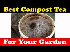 How To Make Compost Tea for your garden, best organic fertilizer for your plants, I give you a step by step way of making the compost (worm) tea. Home Made Fertilizer, Fertilizer For Plants, Organic Fertilizer, Organic Gardening, Gardening Tips, Garden Fertilizers, Epsom Salt Fertilizer, Compost Tea Brewer, Egg Shells In Garden