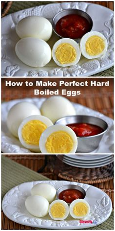 Put your Instant Pot to work and make the perfect Instant Pot Hard Boiled Eggs. More at CleverlyMe.com #InstantPot #InstantPotRecipes #Recipes #EasyRecipes #pressurecooker #PressureCookerRecipes