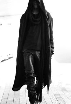 If the Grim Reeper looks anything like this… I might want to meet him sooner than later :) (Street Goth)