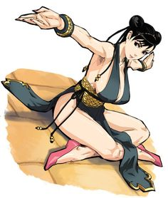 Chun-Li Alternate Costume