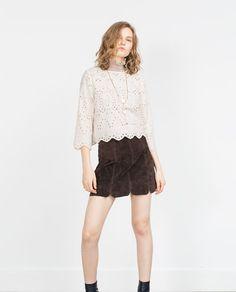 Image 1 of CROP TOP from Zara