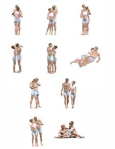 Poses for couples in photography