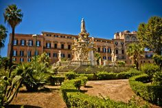 Built by King Roger II, Palazzo Reale, Palermo Sicily Like and Repin. Thx Noelito Flow. http://www.instagram.com/noelitoflow