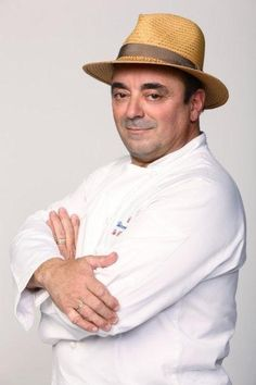 Thierry Rautureau, nicknamed The Chef In The Hat, is the chef/owner of Rover's and Luc Restaurants in Seattle, Washington.