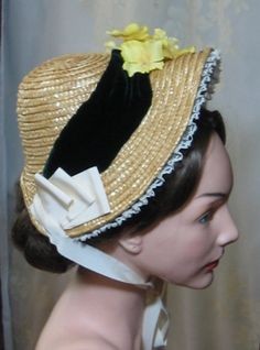 1880s reproduction bonnet. More pictures on website.