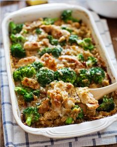 A Happy and Healthy Whirlwind of a Life...: Creamy Chicken, Quinoa, and Broccoli Casserole