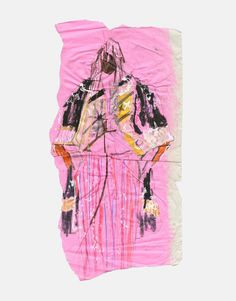 An original fashion illustration of the Maison Martin Margiela Spring/Summer 2014 haute couture collection. Commissioned by SHOWstudio as part of the Paris couture coverage.