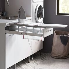 Mudroom Laundry Room, Laundry In Bathroom, Modern Interior, Interior Design, Laundry Design, Laundry Room Inspiration, Küchen Design, Building A House, New Homes