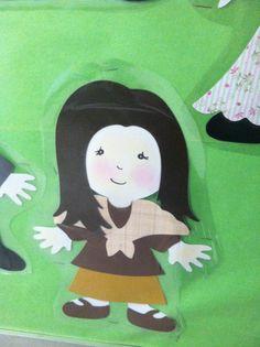 Willy Wonka Cricut Everyday Paper Dolls - Mom