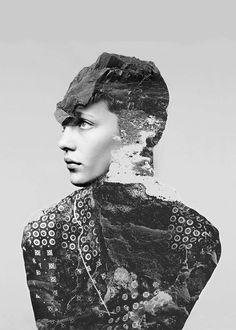 Digital collage by New York-based artist Matt Wisniewski. S)