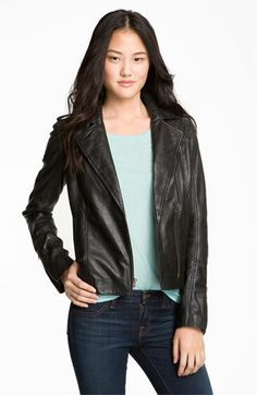 DYING TO HAVE THIS !!!!!!!!!!!!!!1 Trouvé Quilted Leather Biker Jacket