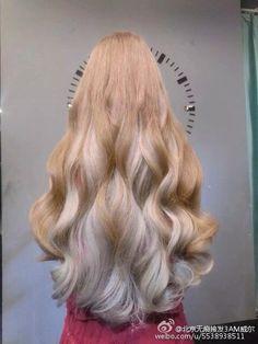 Long Silky Hair, Brown Curly Hair, Hair Color Streaks, Cool Hair Color, Hair Colour, Fantasy Hair, Diy Hair Accessories, Beautiful Long Hair, Hair Dos