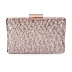 Damara Womens Sparkling Metal Lock Clutch Evening BagChampagne -- Want to know more, click on the image.