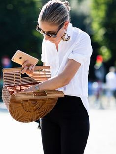 8b32a31d231b Image result for basket bags street style