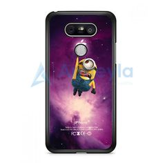 Despicable Me Minion Catch Apple Logo In Dr Who Tardis LG G5 Case   armeyla.com