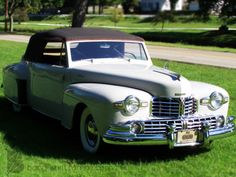 1948 Lincoln Continental #Lincoln #Continental #Rvinyl =========================== http://www.rvinyl.com/Lincoln-Accessories.html