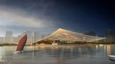 National Maritime Museum Competition Entry,Courtesy of Holm Architecture Office (HAO) + AI