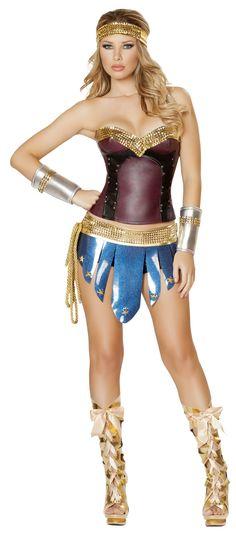 Sexy Greek Warrior Goddess costume - Google Search
