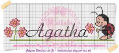 Vi esse gráfico com o nome Luiza no blogVi esse gráfico no blog   bordadosdazi.blogspot.com.br   Achei muito lindo e comecei a criar outr...