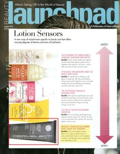 Dermelect Cosmeceuticals Runway Ready Luxury Foot Treatment featured in Beauty Launchpad Magazine. Benefits: This rich treatment cream does it all; reduces inflammation in overworked feet; locks in much-needed moisture; and sloughs away toughened skin.
