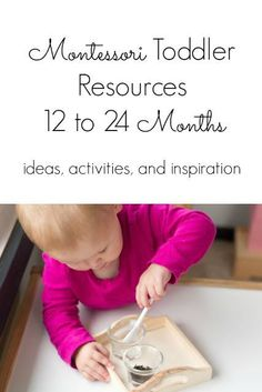Montessori ideas and activities for young toddlers. These Montessori toddler ideas are prefect for toddlers between 12 months and 30 Atividades Montessori - Aluno On Montessori Baby, Montessori Education, Montessori Classroom, Montessori Activities, Preschool Activities, Montessori 12 Months, Motor Activities, Young Toddler Activities, Activities For 1 Year Olds