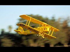 New Dynam Tiger Moth Bi-Plane Review