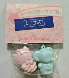HELLO KITTY ERASER Old SANRIO Logo 1986' Vintage Super Rare - $28.00. FOR SALE! DescriptionCondition:NEWBrand:SANRIO / IWAKO Size: 3.2cm This is an old eraser released in 1986. There is deterioration such as stains on the package. Please check with the photo. How is it for your collection? Country of origin: JAPAN Shipping ※Shipping address of the product is only the address of ebay account 324680462824