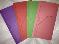 My Life All in One Place: Making multi-pocket file folders for the Midori and other systems