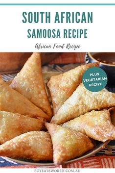 South African Dishes, South African Recipes, Indian Food Recipes, Vegetarian Recipes, Cooking Recipes, Appetizer Recipes, Dinner Recipes, Appetizers, Samosa Recipe