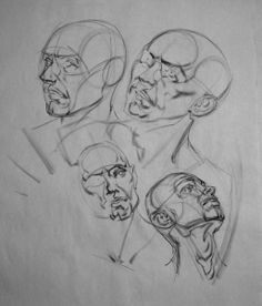 E. M. Gist Illustration/ Dead of the Day: Head Drawing