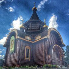 #церковь #небо #лето #church #summer #sky