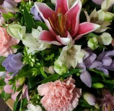 Pinks and Purples funeral tribute.