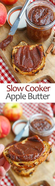 Slow Cooker Apple Butter on Closet Cooking Slow Cooker Apples, Crock Pot Slow Cooker, Crock Pot Cooking, Crock Pots, Apple Butter Slow Cooker, Apple Butter Canning, Canning Recipes, Crockpot Recipes, Crockpot Dishes