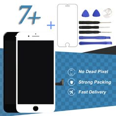 Only US $29.10 For iPhone 7 Plus LCD With Touch Screen White Black Smartphone Display Digitizer Assembly Mobile Phone Accessories Parts LCDs