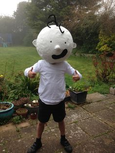 Diary of a Wimpy Kid costume! Dressing Up - World book day