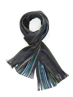 Wool Stripe Scarf by Chelsey Imports on Gilt.com