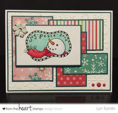 Snowman digi by From the Heart Stamps