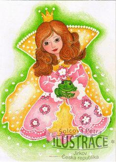 Princezna, ilustrace (kliknutímpřejdetenadalšípoložkugalerie)