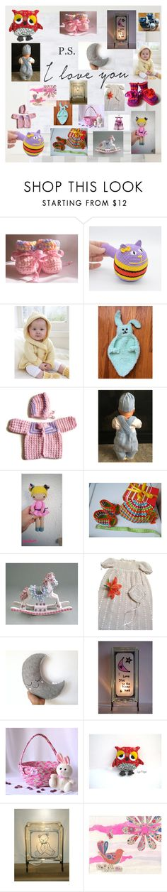 """""""Baby Shower Gifts"""" by glowblocks ❤ liked on Polyvore featuring interior, interiors, interior design, home, home decor, interior decorating and Preciosa"""