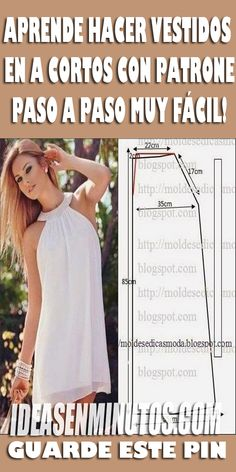 Sewing Hacks, Sewing Tutorials, Sewing Projects, Dress Sewing Patterns, Classy Dress, Sewing For Kids, Dress Outfits, Dresses, Refashion