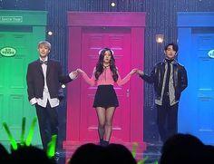 Doyoung, Jisoo and Jinyoung