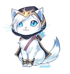 Ashe kitty By: JustDuet