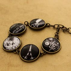 George Melies Bracelet A Trip to the Moon Tile by DubiousDesign