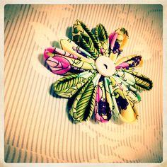 DIY material flower