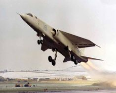British Aircraft Corporation Tactical Strike/Reconnaissance-2 (TSR-2) cancelled, 1965 - Britain's 4th V-Bomber.