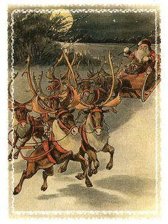 """Here comes Santa Claus..."""
