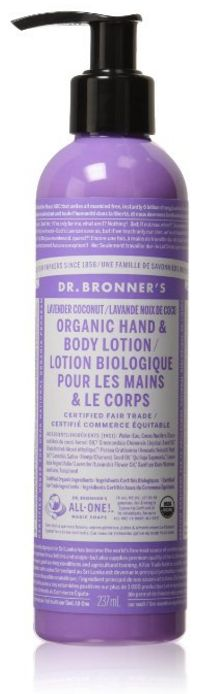Lotion: Dr. Bronner's, $11.95