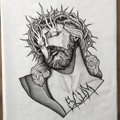 "2,332 Synes godt om, 12 kommentarer – Daniel Teixeira (@daniel_kickflip_tattooer) på Instagram: ""Easter related? Available #tttism #tattooflash #tattooworkers #lovettt #linework #flashaddicted…"""