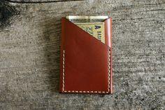 Revelation Wallet in Russet   Barrett Alley - Handmade in USA-SR