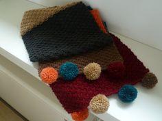kleurige sjaal